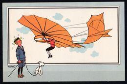 "TINTIN / Chromo ""Voir Et Savoir"" Par Hergé : Aviation Origine N° 3 - Edition CASTERMAN - Other"