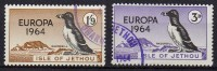 Isle Of Jethou - Europa 1964 - Série De 2 Timbres - Emissions Locales