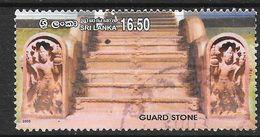 Sri Lanka 2003 Guard Stone Rs16.50 Used Stamp SG1619 - Sri Lanka (Ceylan) (1948-...)