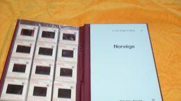 LE LIVRE D'IMAGES DU MONDE 14./ LA NORVEGE AVEC 36 DIAPOSITIVES..BIBLIOVISION RENCONTRE LAUSANNE../ ANNEE 1965 - Diapositivas