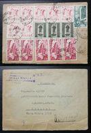Yugoslavia 1959 Registered Multi Franked Cover To Serbia B1 - Storia Postale