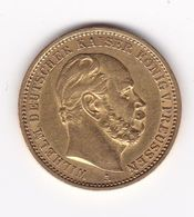 Rb_ Deutsches Reich - 20 Mark - 1875  A - Gold - Wilhelm Deutscher Kaiser  König V. Preussen (3) - [ 2] 1871-1918 : Imperio Alemán