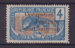 CAMEROUN  : N° 55 * . B . SIGNE BRUN ET ROUMET .  1916 .  ( CATALOGUE YVERT ) . - Neufs