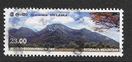 Sri Lanka 2003 World Biodiversity Ritigala Mountain Rs23.00 Used Stamp SG1630 - Sri Lanka (Ceylan) (1948-...)