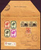 Recommandé 3 Ports De Antwerpen13  1939 Vers Kolding Danemark Affranchi à 5,50F - Belgium