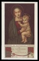 """Madonna - La Beata Vrgine Del Granduca Di Raffaello / Dipinti Celebri - (Milano - Inizio Novecento) - """"Riproduzione"""" - Imágenes Religiosas"""