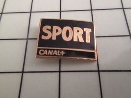 115a Pin's Pins / Beau Et Rare / THEME : MEDIAS / CHAINE DE TELE CANAL + SPORT - Mass Media