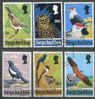 Seychelles Mi# 301-6 Gestempelt/CTO - Fauna Birds - Seychelles (1976-...)
