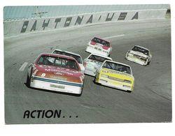 CP Daytona Beach - Action During The Daytona 500 - Cartes Postales