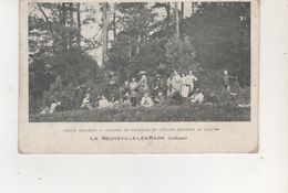 CPA LANEUVEVILLE LES RAON CHALET JOLIS BOIS COLONIE DE VACANSE - Autres Communes