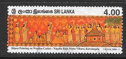 Sri Lanka 2004 Vesak Rs4.00 Used Stamp SG1701 - Sri Lanka (Ceylan) (1948-...)