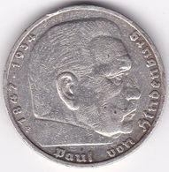 Rb_ Deutsches Reich - 5 Reichsmark - 1937 - F - Hindenburg (5) - [ 4] 1933-1945 : Tercer Reich