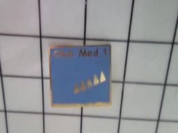 115c Pin's Pins / Beau Et Rare / THEME : BATEAUX / VOILIER CLUB MED 1 - Barcos