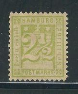 HAMBOURG N° 12 (*) - Hamburg