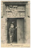 Vic-sur-Seille / Portail Gothique De L'Eglise / Ed. Hartmann - Vic Sur Seille