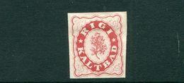 SWITZERLAND HOTEL LOCAL POST RIGI KALTBAD 1864 IMPERF - Non Classificati