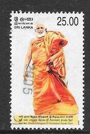 Sri Lanka 2005 Sri Seelalankara Nayaka Thero Rs25.00 Used Stamp SG1741 - Sri Lanka (Ceylan) (1948-...)