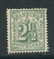 HAMBOURG N° 16 A (*). - Hamburg