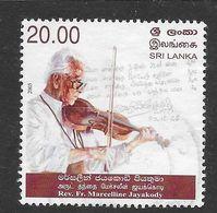 Sri Lanka 2005 Rev. Fr. Marcelline Jayakody Rs20.00 Used Stamp SG1737 - Sri Lanka (Ceylan) (1948-...)