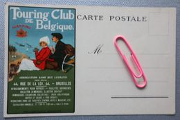 PUB Pour Le TOURING CLUB DE BELGIQUE Signée JEAN DROIT - Publicité