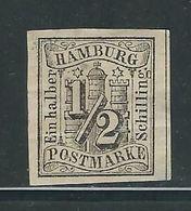 HAMBOURG N° 1 (*). (pli) - Hamburg