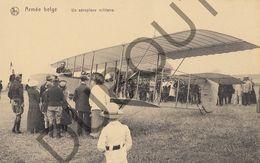 Postkaart - Carte Postale -  Un Aéroplane Militaire - Aviation - Vliegtuigen   (B550) - Avions
