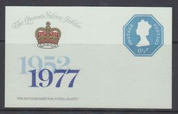 Great Britain 1977 Silver Jubilee  Souvenir Sheet ** Mnh (48473) - 1952-.... (Elizabeth II)