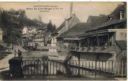 Montbéliard / Hôtel Du Lion Rouge Et Rue Des Huisselets / Ed. Hendré / Etat ! - Montbéliard