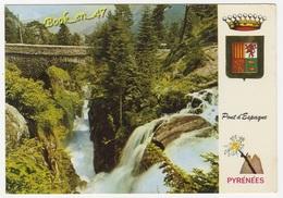 {59686} 65 Hautes Pyrénées Environs De Cauterets , Le Pont D' Espagne , Le Gouffre Et La Cascade - Ponts