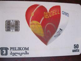 Télécarte De Georgie - Georgien