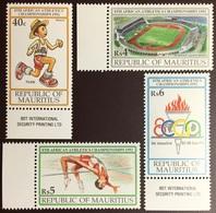 Mauritius 1992 Athletics Championship MNH - Mauricio (1968-...)