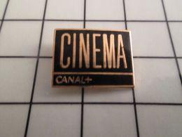 115e Pin's Pins / Beau Et Rare / THEME : MEDIAS / CHAINE DE TELE CANAL + EMISSION CINEMA - Mass Media