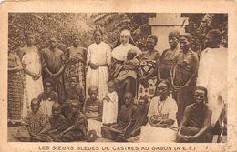 GABON - Les Sœurs Bleues De CASTRES Au Gabon  - A.E.F - écrite Par Une Des Soeurs De L'Immaculée Conception - Gabon