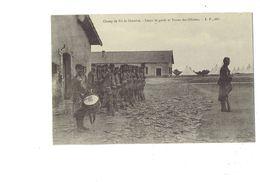 Cpa - CHAMP DE TIR DE CHENOVE - CORPS DE GARDE ET TENTES DES OFFICIERS Soldat Tente Fusil Tambour - Chenove