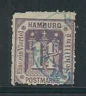HAMBOURG N° 22 Obl. - Hamburg