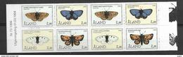 1994 MNH Aland Booklet,  Postfris - Schmetterlinge