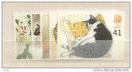 1995 MNH GB, UK, Engeland Grossbritanien, Cats  Postfris - Neufs