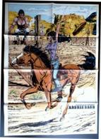 "POSTER "" Archie Cash "" Supplement Au Spirou N° 1847  De  1973 - Spirou Magazine"