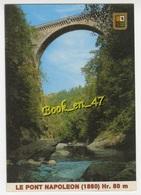 {59681} 65 Hautes Pyrénées Luz Saint Sauveur , Le Pont Napoléon - Ponts