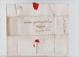 """1780 Letter To """"Wilson Aylesbury Roberts, Bewdley"""" From """"James Coulthard, Lincolns Inn"""". Fair Bishop Mark.   0825 - Grande-Bretagne"""