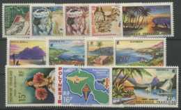 Polynesie Annees Completes (1964) N 26 A 34 Et PA N 7 A 9 (Luxe) - Polynésie Française