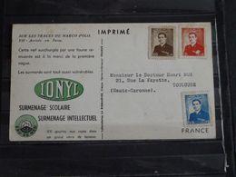Iran - Carte Publicitaire Plasmarine Ionyl Sur Les Traces De Marco-Polo - 1954 - Arrivée En Perse - Iran
