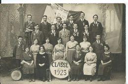 CARTE PHOTO    (  A IDENTIFIER  )   CLASSE 1923 VILLE DE CHAB..... ????? - A Identificar
