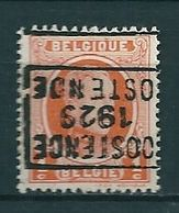 4528 Voorafstempeling Op Nr 190 - OOSTENDE 1929 OSTENDE - Positie D - Préoblitérés