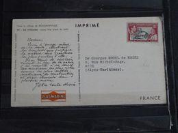 Pitcairn Islands - Carte Publicitaire Plasmarine Dans Le Sillage De Bougainville - 1955 - Jeune Fille Triant Du Café - Stamps
