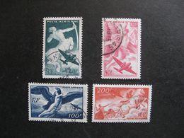 TB Serie PA N° 16 Au N°19, Oblitérés. - Airmail