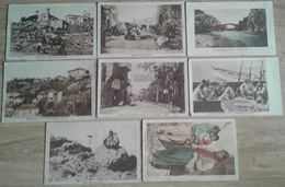 LIBAN LEBANON BEYROUTH Baabda ALEY  Lot De 8 Cartes Torossian Murachanian - Lebanon