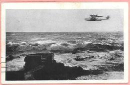 NAVIGAZIONE AEREA IDROVOLANTE DORNIER WAL NELLA LINEA GENOVA ROMA AEREO POSTALE Timbres Monaco - 1919-1938