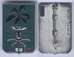 Insigne De La Division Daguet - Avec Texte En Arabe - Hueste