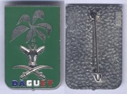 Insigne De La Division Daguet - Sans Texte En Arabe - Hueste